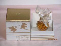 Nina Ricci - L'air de Temps parfum Flacon edition Limitee Cristal Lalique 15ml