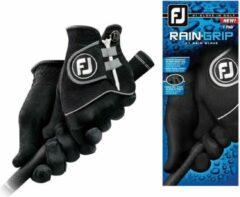 Zwarte Footjoy Raingrip handschoenen (per paar) Heren medium Large