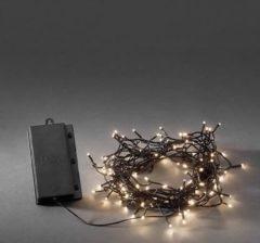 Quality4All LED-Licht 24 m, mit Kette, on/off-Schalter, 6-Stunden Timer, Multifunk