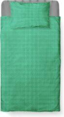 Roomture - Dekbedovertrek Peuter - Katoen - 120 x 150 - Groen - Baby Dots Green