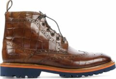 Bruine Melvin & Hamilton Mannen Leren Boots - Matthew 7 - 42