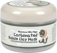 BIOAQUA Elizavecca Milky Piggy Carbonated Bubble Clay Mask | Black Head Killer Gezichtsmasker | Anti Acne Bubble Mask