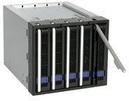 Icy Dock ICY Dock FatCage MB155SP-B - Gehäuse für Speicherlaufwerke mit Lüfter - 3.5'' (8.9 cm) MB155SP-B