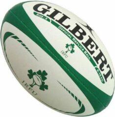 Groene Gilbert Ireland Official Replica rugbybal maat 4