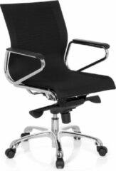 Hjh office Bureaustoel - Met Armleuning - Stof - Zwart - Ergonomisch