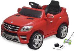 Rode VidaXL Elektrische auto Mercedes Benz ML350 rood 6 V met afstandsbediening