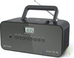 Zwarte Muse Electronics Muse M-22 BT - Draagbare Radio/CD-speler met Bluetooth
