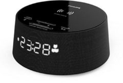 TP Vision Philips TAPR702/BK - Bluetooth wekker met draadloze laadfunctie smartphone - Zwart