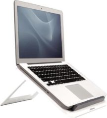 Grijze Fellowes laptop standaard I-Spire Quick Lift 17 inch, wit