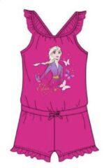 Disney Frozen II onesie / jumpsuit - Elsa - fuchsia - maat 110 (5 jaar)