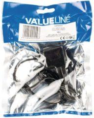 Valueline VLMP60891B10 oplader voor mobiele apparatuur Binnen Zwart