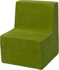 Go Go Momi Zachte foam stoel, kinderen, kinderen, comfortabel, zetel, kinderdagverblijf, Kids meubels, spelen, ontspannen - Groene