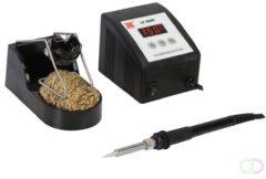 Velleman Soldeerstation - 60W/230V - Temperatuurregeling & Keramisch Verwarmingselement