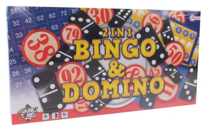 Afbeelding van Toi-Toys Toi Toys Domino Bingospel