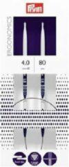 Blauwe Prym ergonomische rondbreinaald 80 cm 4,0 mm
