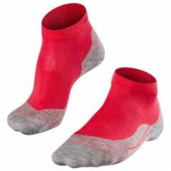 Falke - Women's Falke RU4 Short - Hardloopsokken maat 35-36, rood/roze/grijs