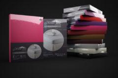 Witte Dreamhouse Bedding Hsl Hc Jersey 135 Gr. Hot Pink 140x200