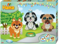 Hama Strijkkralen Set Honden 4000 Stuks
