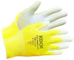 Gele Kixx Handschoenen Kixx Tuinhandschoenen - Juicy Yellow - Maat 9