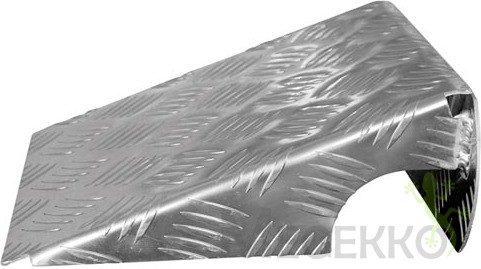 Afbeelding van Grijze Merkloos / Sans marque Oprijplaten aluminium - set van 2 stuks