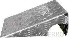 Grijze Merkloos / Sans marque Oprijplaten aluminium - set van 2 stuks