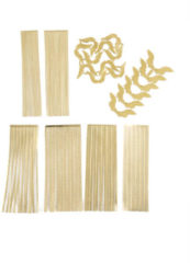 LaBlanche Home-Dekoration Papier-Goldbordüren
