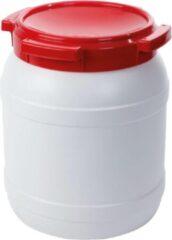 Waterkluis - 15,4 Liter - Water- En Luchtdicht - Wit/rood