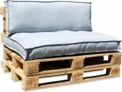 In the Mood collection In The Mood Palletkussenset Salvador Aqua Grijs