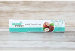 Groene Greensweet Stevia Chocoreep Melk Hazelnoot (42g)