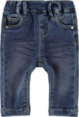 Marineblauwe Name it Meisjes Polly Skinny Jeans legging - Medium Blue Denim - Maat 80