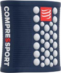 Blauwe Compressport Sweatbands 3D Dots Blue/White ZweetbandDefault