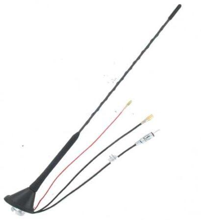 Afbeelding van Zwarte TCP DAB/FM 16V Antenne Electrisch Versterkt