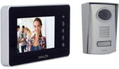 Chacon 4-draads Kleuren Videofoon 4.3 Zwart Met Ultraplat Scherm