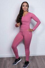 Roze Melanique MFIT - Booty schaper 2.0 sportlegging - High waist - Sweet pink