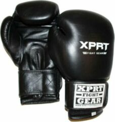 Zwarte XPRT Fight Gear XPRT Bokshandschoenen Top Gloves 16 oz