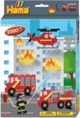 Hama - Strijkkralenset - Brandweer - 2000 stuks