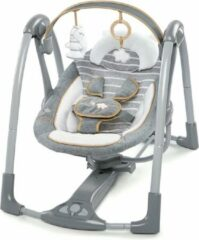 Grijze Bright Starts Ingenuity Swing and Go Bella Teddy Boutique Babyswing