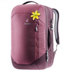 Deuter - Women's Aviant Carry On 28 SL - Reisrugzak maat 28 l, roze/purper/grijs