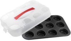 Sonstiges Dr. Oetker Muffinform mit Transporthaube Bake & Go