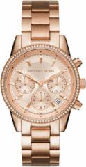 Michael Kors MK6357 Horloge Ritz staal rosekleurig 37 mm