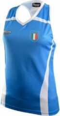 Blauwe Boxeur Des Rues Lady Fpi Olympic Match Tank-blue