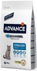 Advance cat sterilized turkey kattenvoer 10 kg