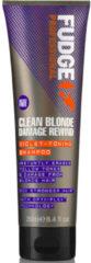 Fudge Clean Blonde Violet Zilvershampoo - 250ml - vernieuwde samenstelling