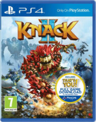 Sony Knack 2, PS4 Basis PlayStation 4 video-game