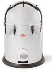Wesco Mini Master Pedaalemmer - 6 liter - Roestvrijstaal