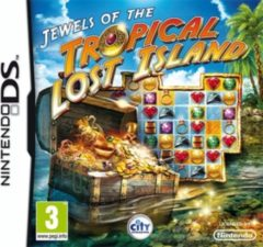 Easy Interactive Console Jewels of Tropical Lost Island NDS