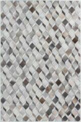 Beige Decor24-OB Laagpolig vloerkleed met patronen Bonanza - Cubes - 120x170 cm