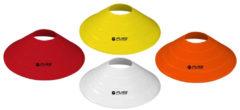 Pure2Improve Markeerschijvenset - rood/oranje/geel/wit