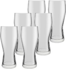 Royal Leerdam 12x speciaal bierglazen transparant 400 ml Mainz