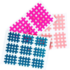 Rastertape GHZ pink, blauw, huidkleur